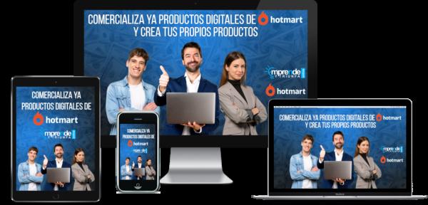 Comercializa productos digitales